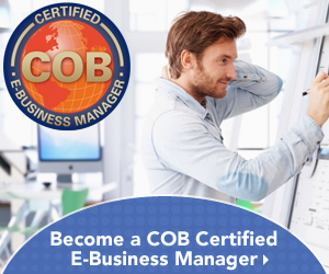 Become a COB Certified E-Business Manager
