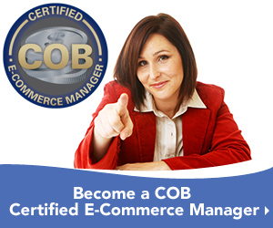 Become a COB Certified E-Commerce Manager