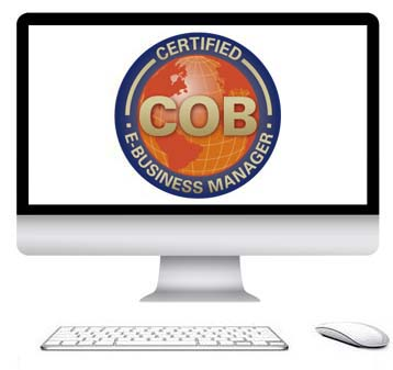 Get instant access to the COB Certified E-Business Manager E-Learning Course